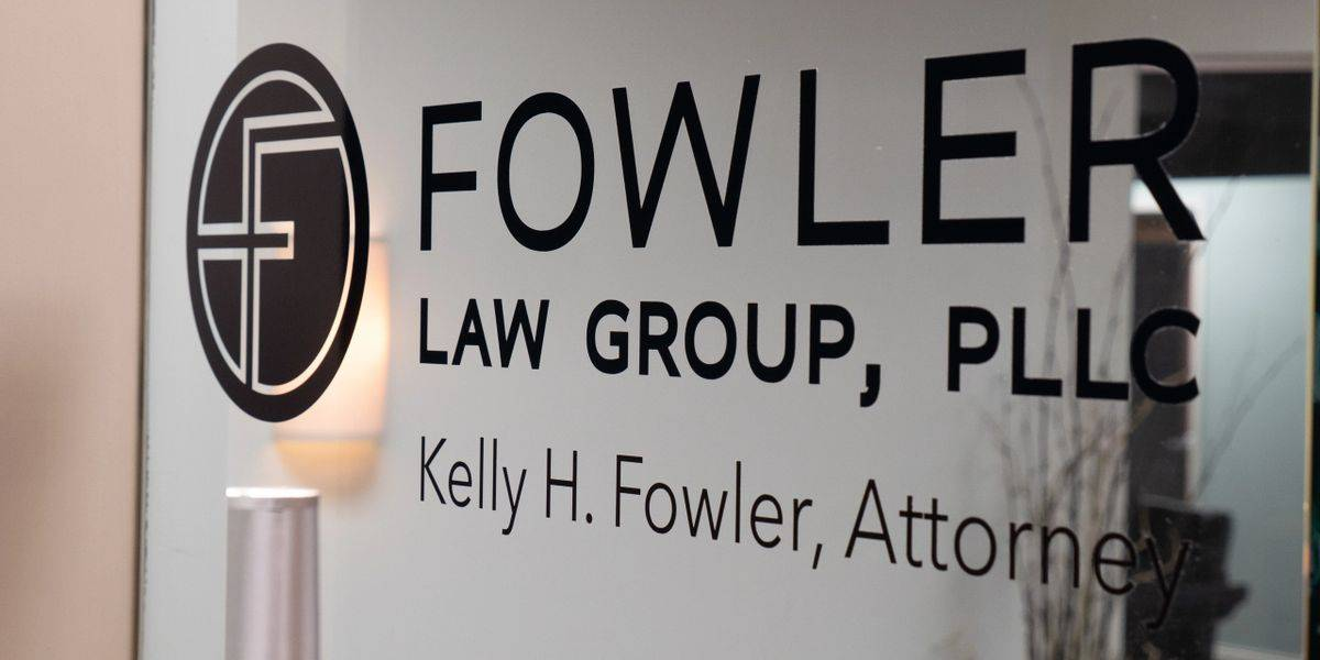 Door sign of Fowler Law Group