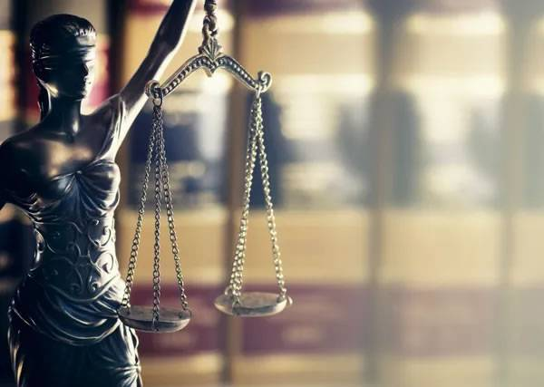 lady justice holding the scales of justice